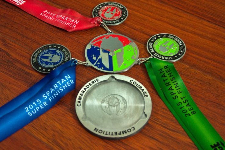 how to get spartan trifecta medal