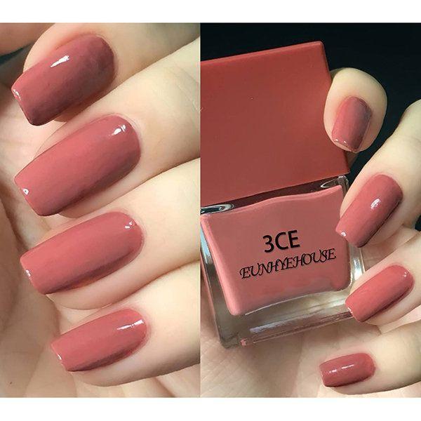 8 Farben Nagellack Nude Farbe Kürbis Farbe Brick Red Bean Nails Art Manicure – Nails