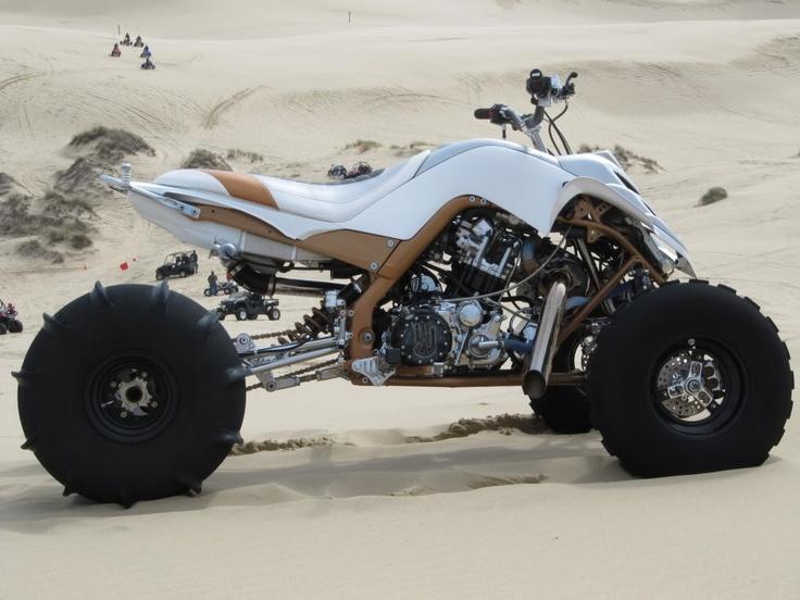 "Yamaha Raptor Turbo Quad / The ""Shocker"" | Dubai Bikers"