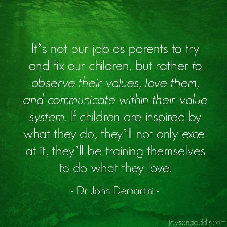 Dr. John Demartini laying down truth for us. #parenting
