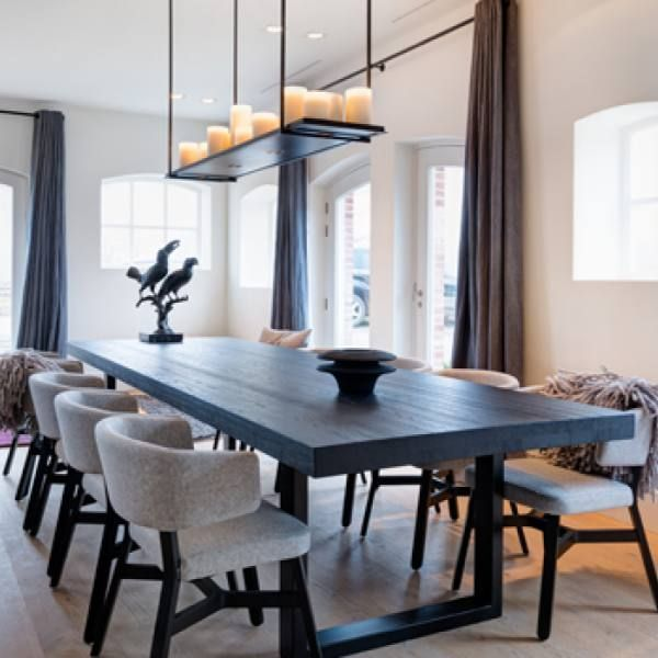 29 Contemporary Minimalist Dining Room Idea Candle Chandelier