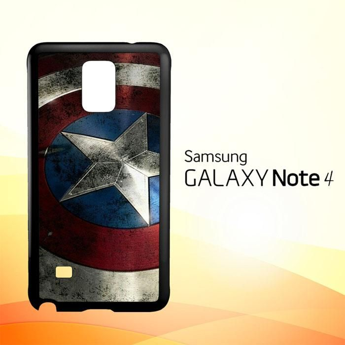 Captain America-0001 O0169 Samsung Galaxy Note 4 Case