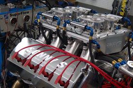 SONNY'S NEW 1000 CU. IN ENGINE HAS ARRIVED OVER 2100 HP ( NATURALLY ASPIRATED) - Sonny's Racing Engines & Components