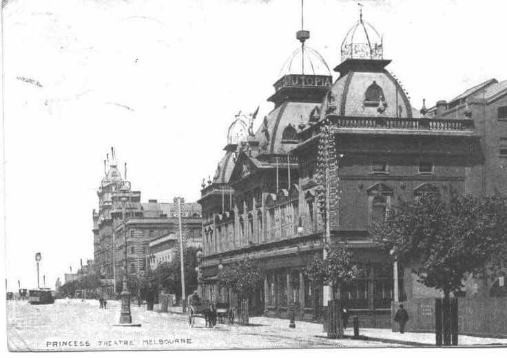 Princess Theatre in Melbourne, Victoria in 1908.