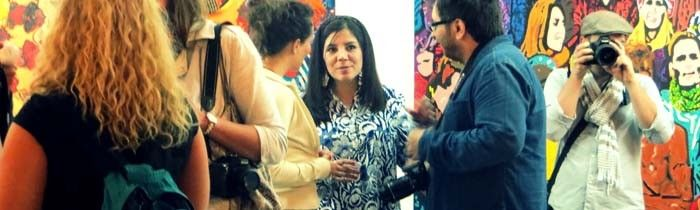 Entrevista a Andrea Valencia sobre 'Sonho Coletivo'   Casa da América Latina