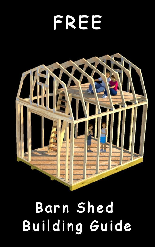 Make Memories Building Your Own Barn Shed It S Easy And Fun Poleshedplan Diy Shed Plans Barns Sheds Diy Shed