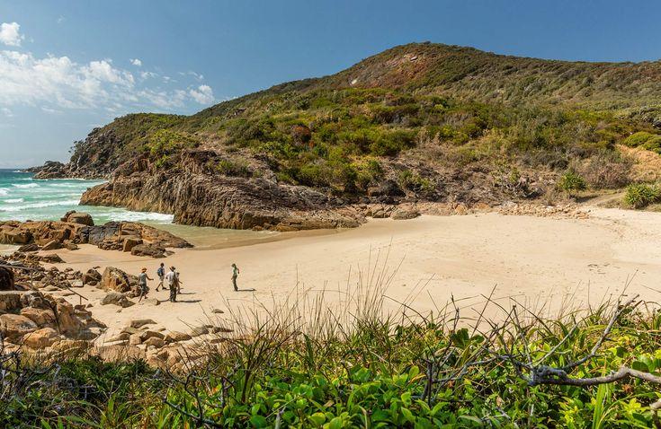 Little Bay Beach, Arakoon National Park. Photo: David Finnegan