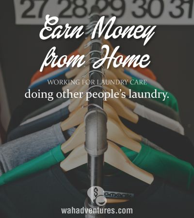 Laundry - This link is from Laundry Care - a home laundry service. Perhaps something for the busy mom who needs some extra money? #homebiz #newbiz