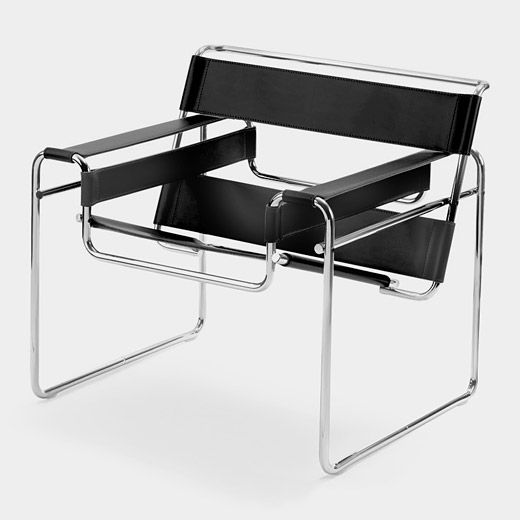 Marcel Breuer was teaching at the Bauhaus when he conceived one of the century's most important innovations in furniture design: the use of tubular steel.