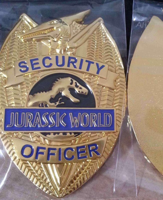 Jurassic Prop World Security Badge