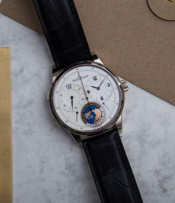 Jaeger-LeCoultre Duometre Unique Travel Time Paris Boutique edition 600316S traveller watch at A Collected Man London