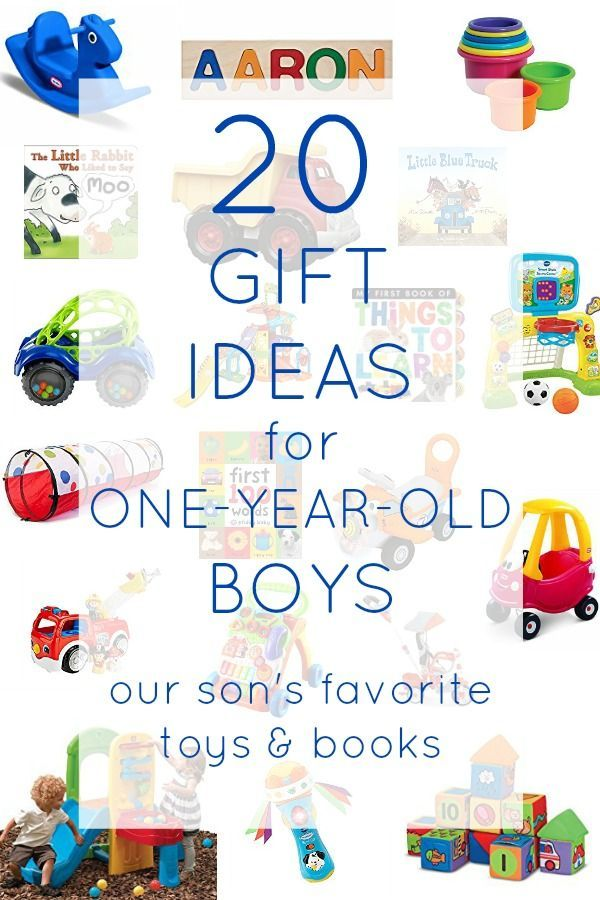 20 gift ideas for one year old boys. The best toys and books to gift young toddlers on any budget!