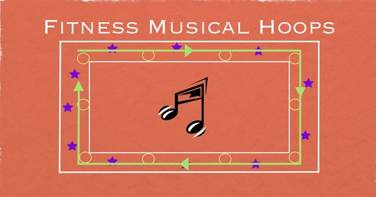Fitness Musical Hoops