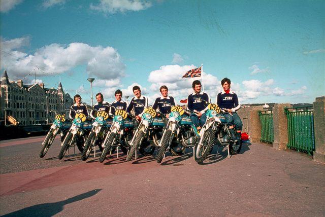 Team KTM Isola di man 1975