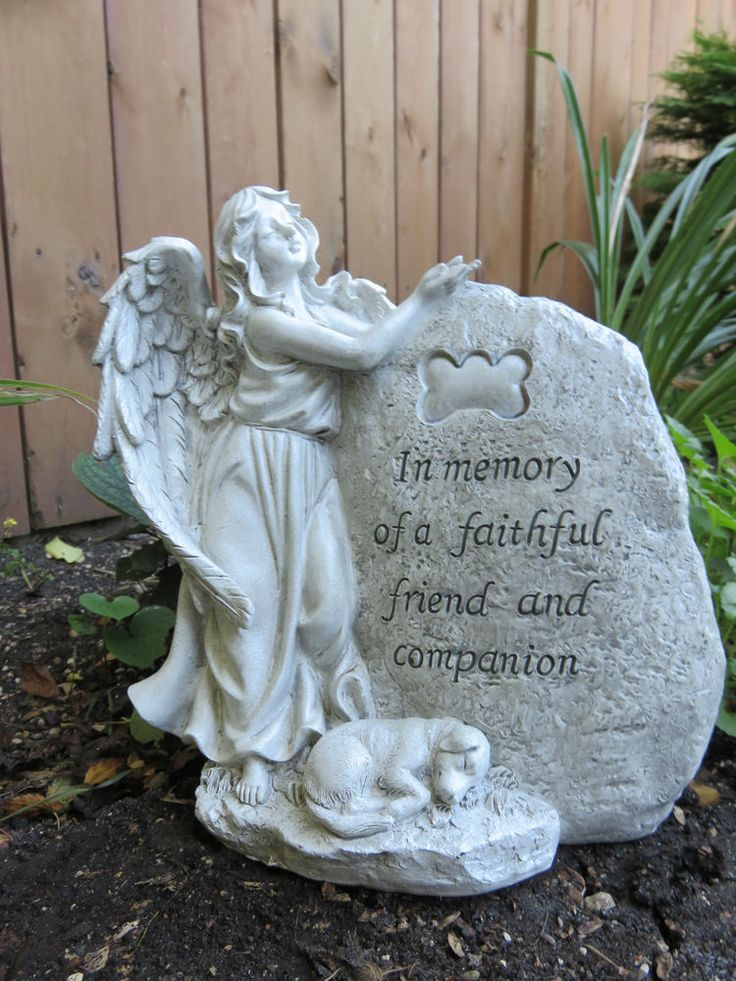 25 Best Ideas About Dog Memorial Stone On Pinterest Pet