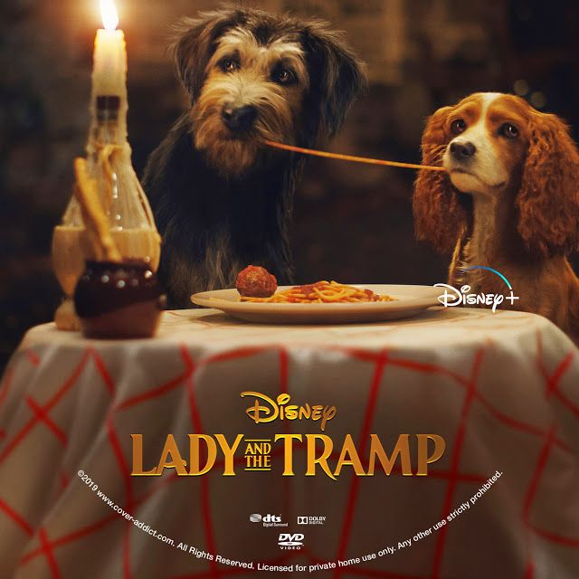 Lady And The Tramp 2019 Dvd Label Lady And The Tramp Dvd Label Tramps Movie