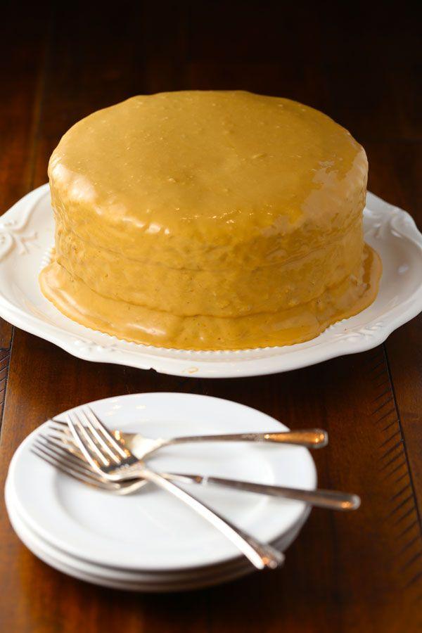 Old Fashioned Southern Burned Caramel Cake Mom Loves Baking Recipe Banana Cake Recipe Southern Cake Caramel Cake