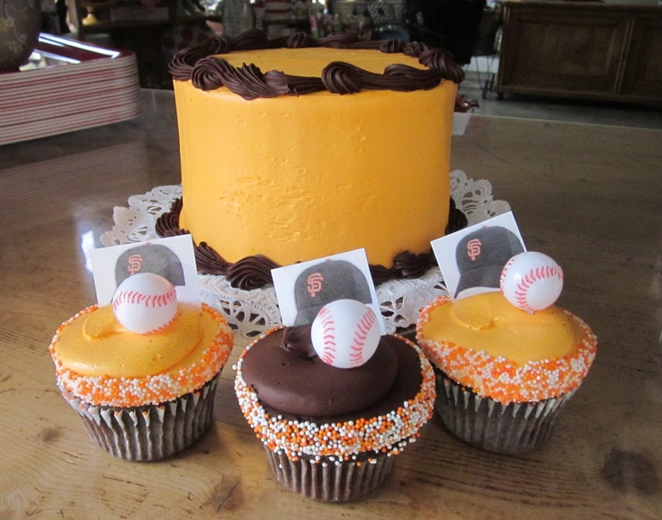 Birthday Cake Design San Francisco : 21 best images about SF Giants Baby Shower on Pinterest ...