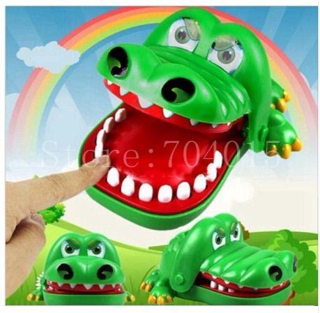 Krokodil Mund Zahnarzt Spiel für Kinder – supermarkt