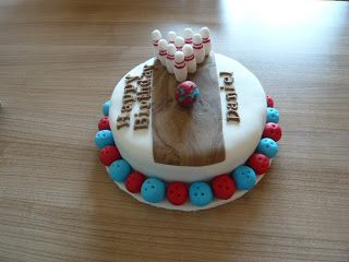 Bowling-Torte