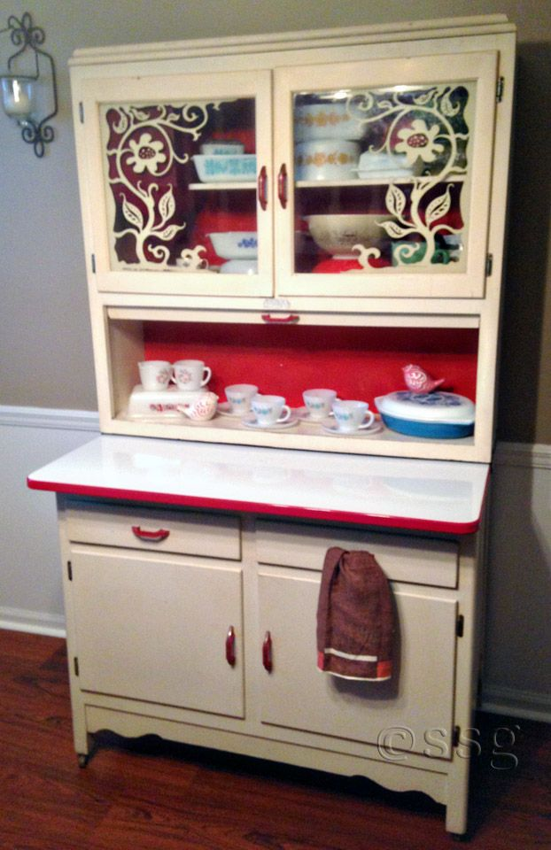 674 best Hoosier cabinets images on Pinterest | Closets ...