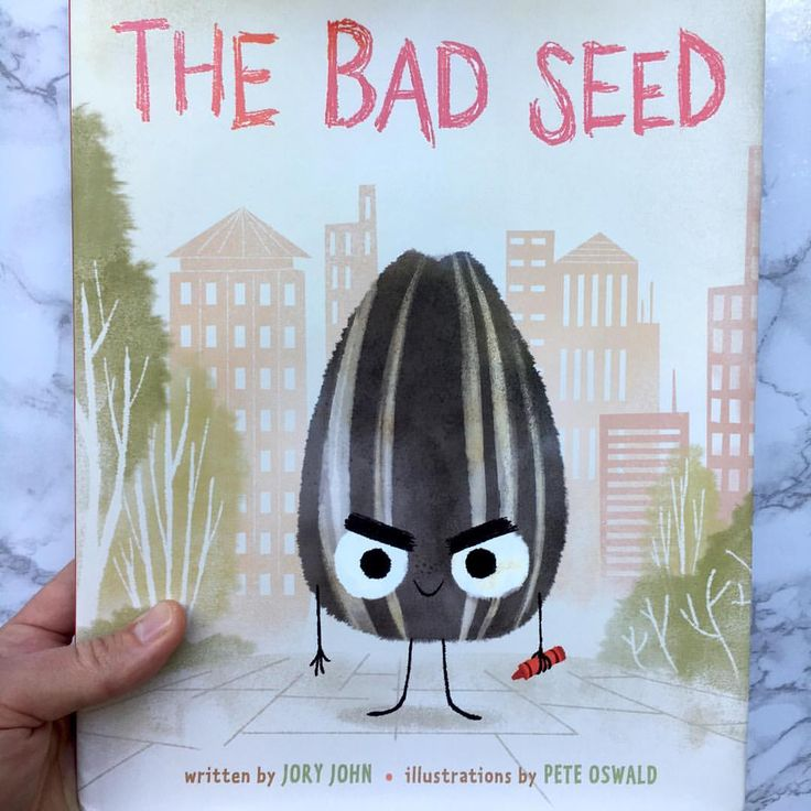"1,350 Likes, 27 Comments - Pete Oswald (@peteoswald) on Instagram: ""Just received my author's copy of THE BAD SEED by @jory_john & me. Available August 29th!"""