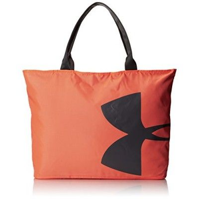 Under Armour Womens Big Logo Tote Bag After Burn One Size