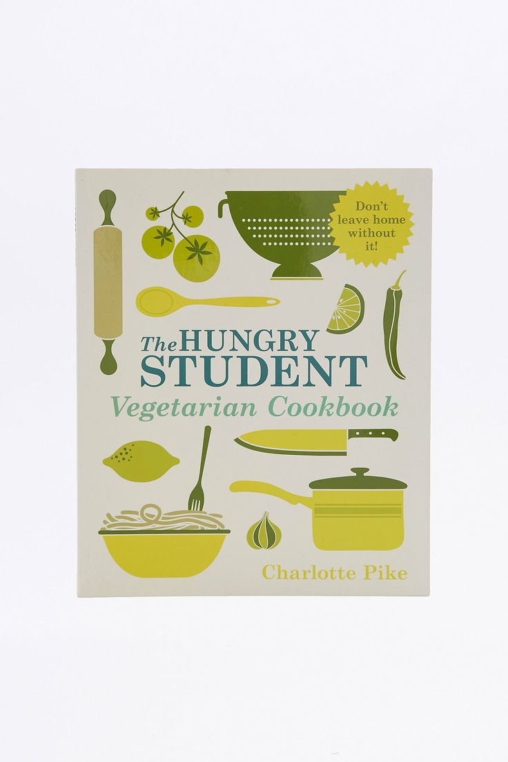 Slide View: 1: The Hungry Student Vegetarian Cookbook