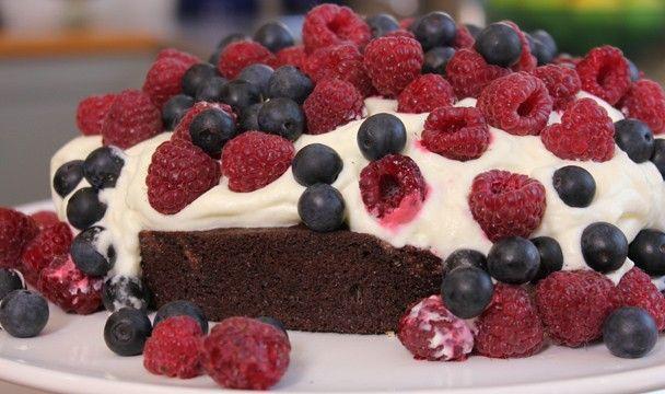 Wacky One Pan Chocolate Cake