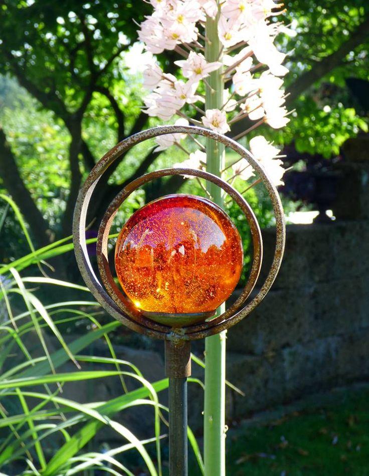 22 besten glas murmeln garten bilder auf pinterest auge - Glas gartendeko ...