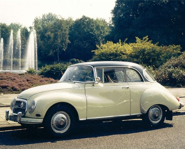 Driving away in this beaut :) or be delivered to isle for an outdoor wedding.