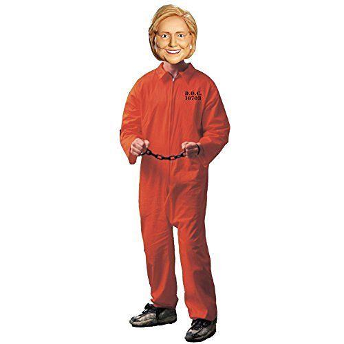 Hillary Clinton Prison Costume Kit
