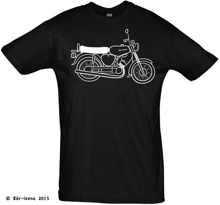Moped T-Shirt · schwarz
