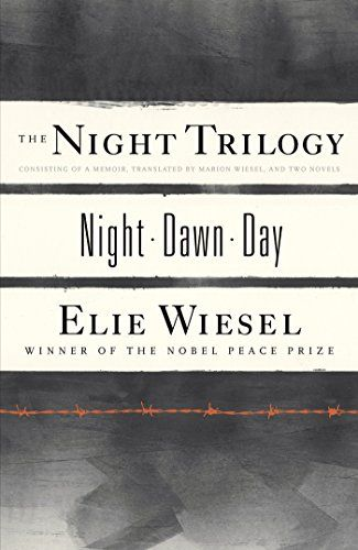 The Night Trilogy: Night, Dawn, Day by Elie Wiesel http://www.amazon.com/dp/0809073641/ref=cm_sw_r_pi_dp_9Dn5ub14GSWVQ