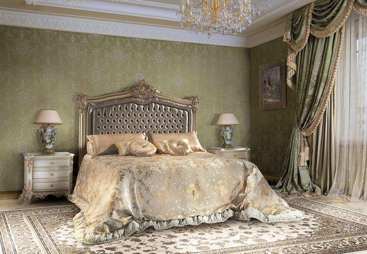 PAVESI Baroque style luxury bed