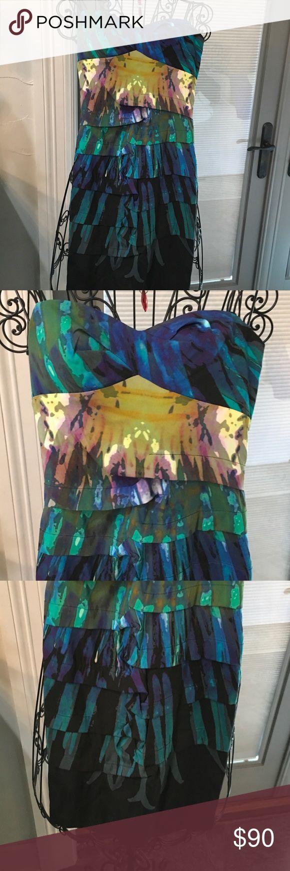 Nicole Miller dress Dress multicolored Nicole Miller Nicole by Nicole Miller Dresses Mini