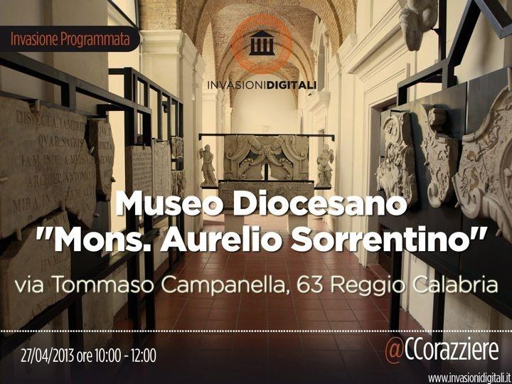 #invasionidigitali #liberiamolacultura #museodiocesanorc #igersitalia #igerscalabria @CCorazziere @Museo diocesano Reggio Calabria