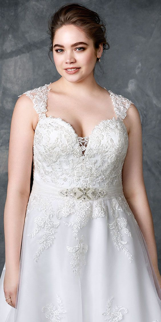 low cost wedding dresses in atlantga%0A Femme by Kenneth Winston        Gorgeous lace gown   with cap sleeves and  illusion and