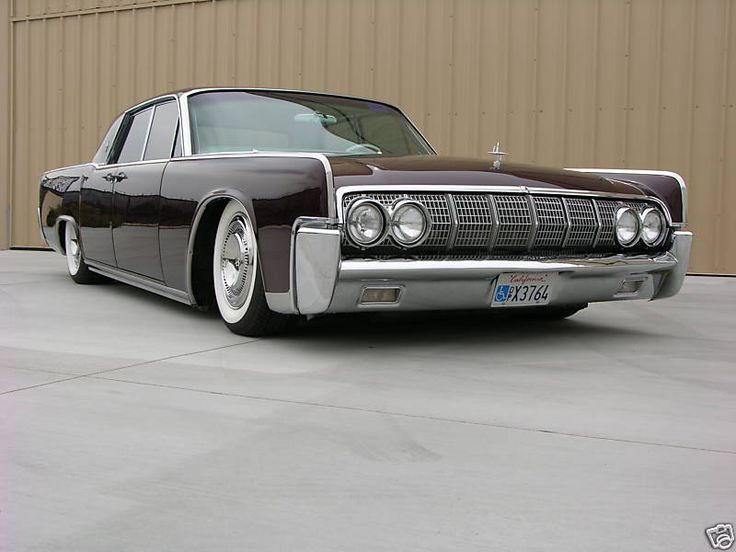 I fell in love with the continental when I first saw the black one in The Matrix. Love the clean straight lines.Classic Cars, Riding, Garages, Wheels, Vehicle, Auto, Lincoln Continental, Dreams Cars, 1964 Lincoln Continents