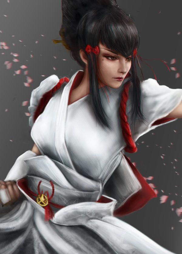 Kazumi By Arashi 96 Video Games Girls Kazumi Mishima Fantasy Figurine