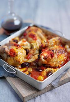 Chicken with harissa