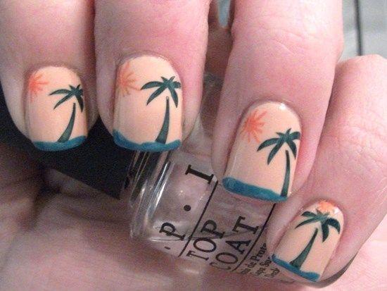 50 Tropical Nail Art Designs For Summer | Nail Design Ideaz