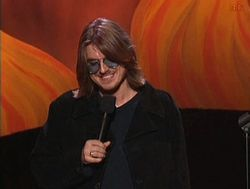 """Mitchell Lee """"Mitch"""" Hedberg (February 24, 1968 – March 30, 2005) was an American stand-up comedian known for his surreal humor and unconventional comedic delivery. Hedberg's comedy and onstage persona gained him a cult following, with audience members sometimes shouting out the punchlines to his jokes before he could finish them. Cause of death, """"multiple drug toxicity"""" in the form of cocaine and heroin."""