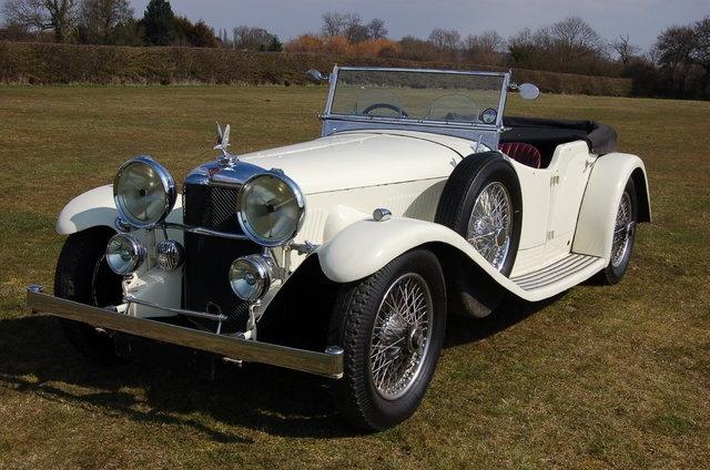 Alvis Speed Twenty 1934.