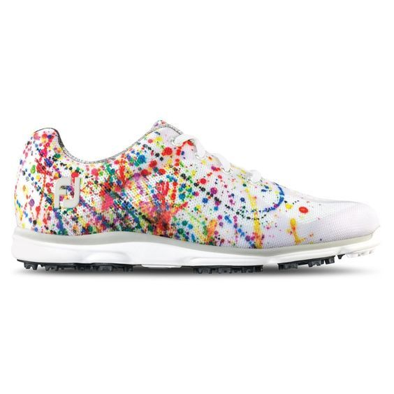 FootJoy 98012 Ladies emPower Golf Shoes - Paint Splatter - Closeouts – Golf Anything US -- Click on the image for additional details. #LadiesGolf