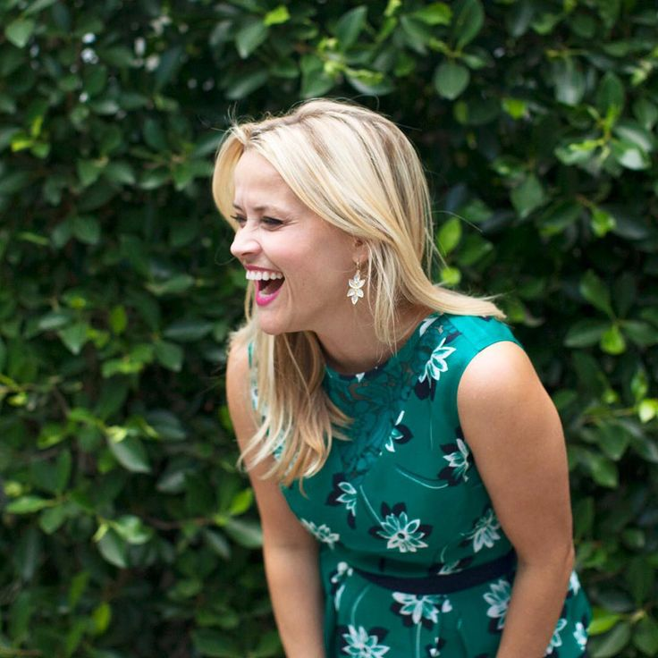 Reese Witherspoon. Hahaha lovely laugh