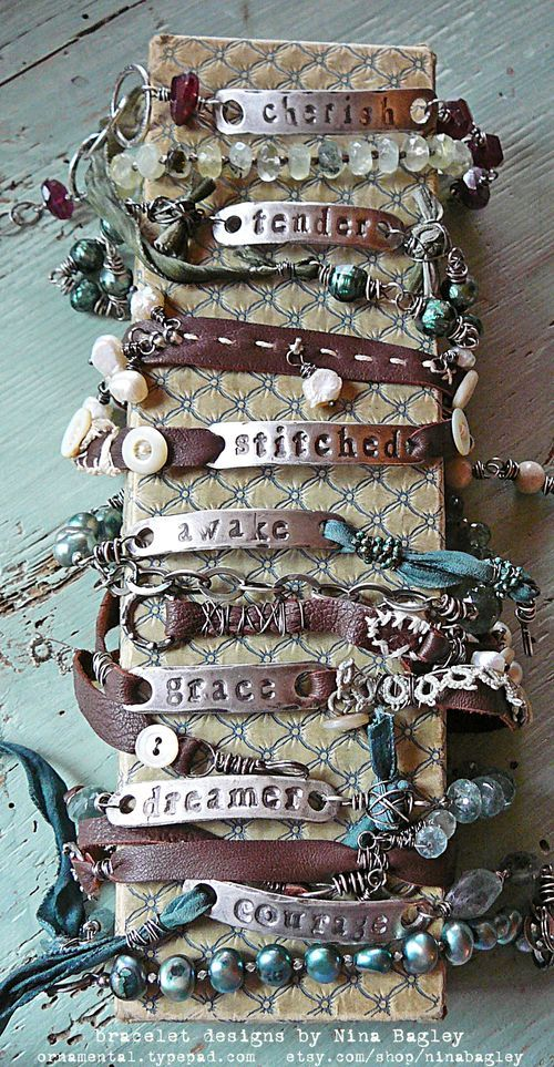 Yes, definitely to wear!! I have one of these. Identity bracelets 1, Nina Bagley