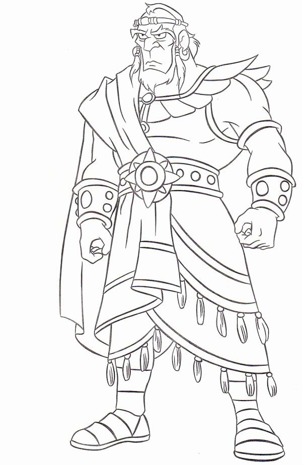 King Saul Coloring Page Luxury King Sauls Disobe Nce Free