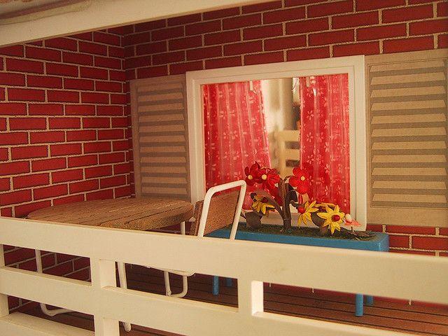 Vintage Lisa dolls house terrace   Flickr - Photo Sharing!