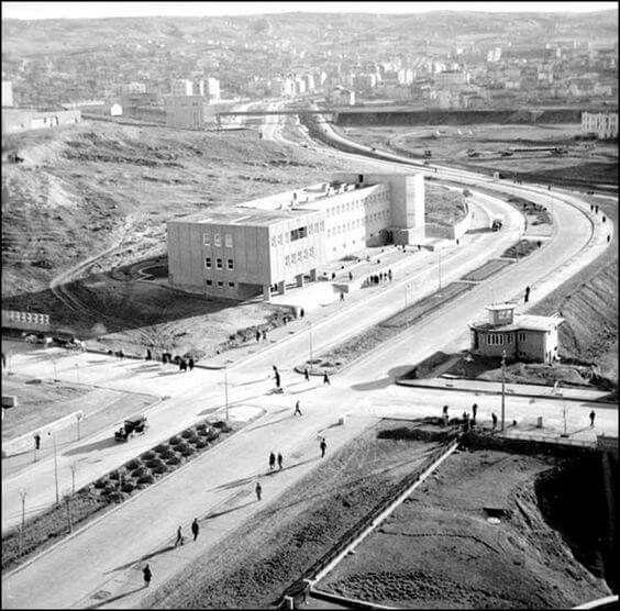 1930 lar - Opera'dan Kızılay'a Bakış